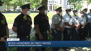 Baltimore City Fire receives Partner of Excellence Award from Red Cross
