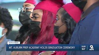 Mt. Auburn Prep students thankful for in-person graduation ceremony