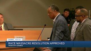 Tulsa City Council passes race massacre resolution