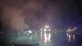 Sterling Heights police officers save man from burning car