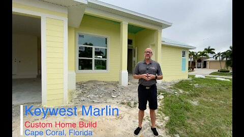 Key West Marlin Custom Home Build Cape Coral, Florida for Pinnacle Building Solutions Brian Ludden