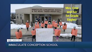 Good Morning Maryland from Immaculate Conception School