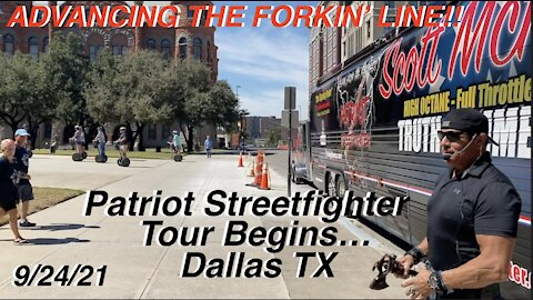 """9.24.21 Patriot Streetfighter """"ADVANCING THE FORKIN' LINE"""" TOUR Launch"""