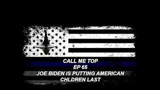 JOE BIDEN PUTTING AMERICAN CHILDREN LAST ARMY STORY