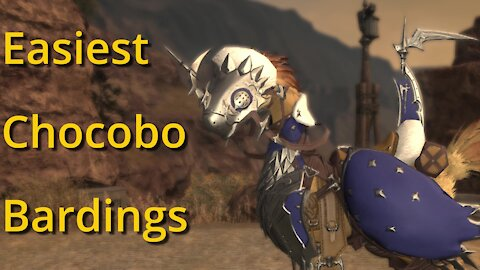 7 Easiest Chocobo Bardings To Obtain In FFXIV