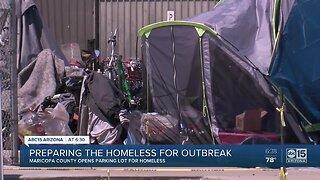 Preparing homeless population for coronavirus outbreak