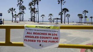 Los Angeles County To Close Beaches For 4th Of July Weekend