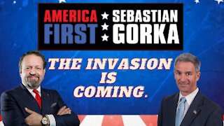 The invasion is coming. Ken Cuccinelli with Sebastian Gorka on AMERICA First