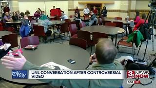 UNL students discuss Kleve concern with admins