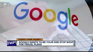 Google Travel helping you plan your vacation