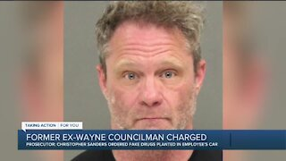 Former Wayne Councilman accused of planting starter pistol, fake drugs in city employee's car