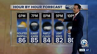 Updated Thursday forecast