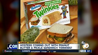 Peanut butter and pickle Twinkies?