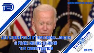 Joe Biden Says Vaccine Mandates Shouldn't Divide Us | Psaki Doubles Down | Booze & Banter | Ep 272