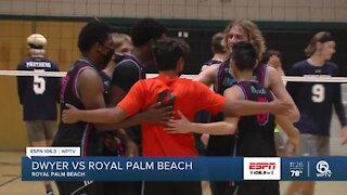 Royal Palm Beach volleyball handles Dwyer