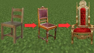 How To Build 3 AMAZING CHAIRS in Minecraft