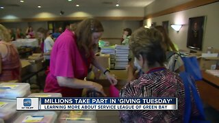 Service League of Green Bay recognizes giving tuesday