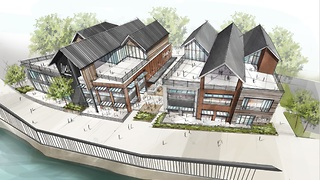 New Flats East Bank project seeks initial approval