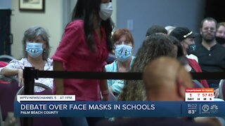 Palm Beach County schools not considering fall mask mandate
