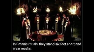 THE SECRET BEHIND THE MASK AND THE SATANIC FORCES
