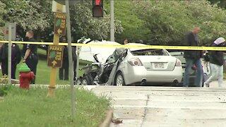 2 dead after car crash near N. 91st and Bradley Street, medical examiner says