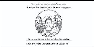 Second Sunday after Christmas, January 3 2021