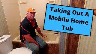 Mobile Home Tub Removal