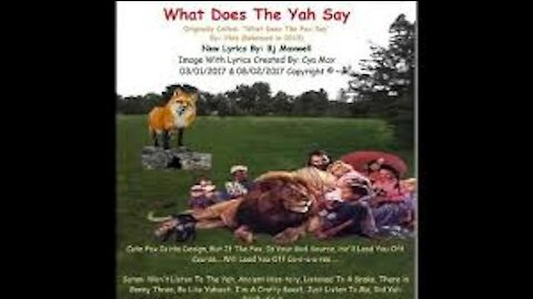 What Does The Yah Say?