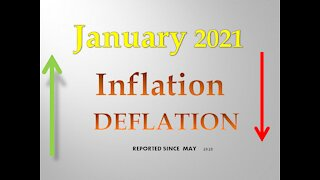 January 2021 - Inflation or Deflation Report
