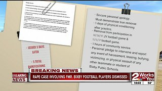 Sources: Rape case involving former Bixby football players dismissed