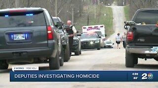 Creek County deputies investigating homicide