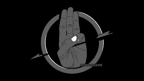 hunger games hand symbol now used by anti vaxxers