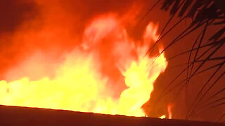 Mobile home near Palm Beach Gardens severely damaged by fire
