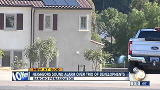 Neighbors sound alarm about trio of Rancho Penasquitos projects