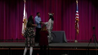 """Starpoint High School hosts """"unique and intimate"""" graduation ceremony"""
