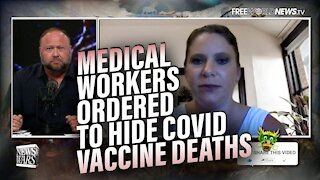 Criminal Coverup! Hospitals Order Medical Workers to Hide Covid Vaccine Side-Effects