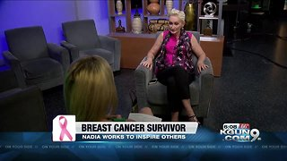 Breast cancer survivor finds beauty in the battle