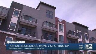 Rental assistance money starting up