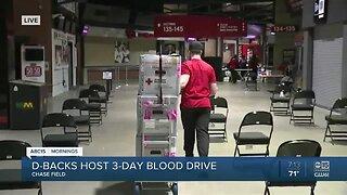 Diamondbacks hosting 3-day blood drive