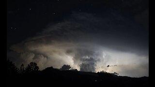 Lightning Over Pikes Peak 7-28-2016