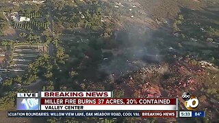 Miller Fire forces residents to flee