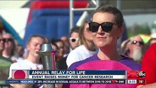 Annual Relay for Life weekend raising money to fight cancer