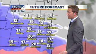 Winter Storm Advisory goes into effect Monday night
