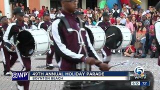 49th annual holiday parade held in Boynton Beach