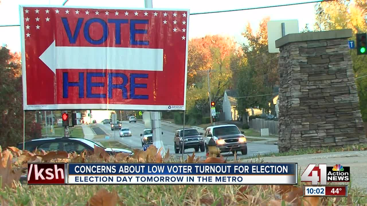 Voter turnout expected to be low for Tuesday's election