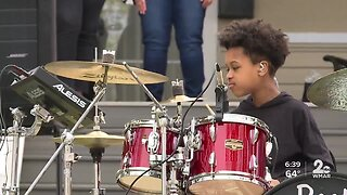 11-year-old celebrates being 1-year cancer free, hold outdoor concert on his birthday