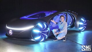future Mercedes super vehicles   AVTR. I simply need to possess one