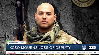 KCSO mourns of the loss of Deputy Campas