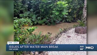 Second round of water issues for Fort Myers canal