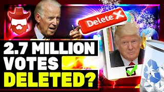 Trump Claims 2.7 Million Votes STOLEN By Dominion Voting Software!